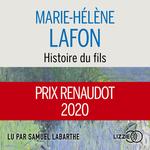 Vente AudioBook : Histoire du fils  - Marie-Hélène Lafon