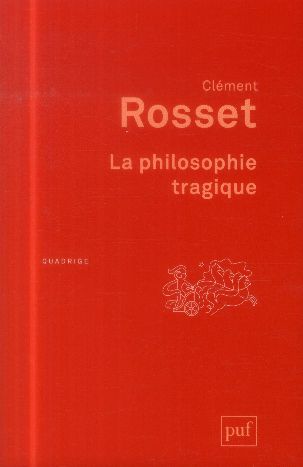La philosophie tragique (3e édition)