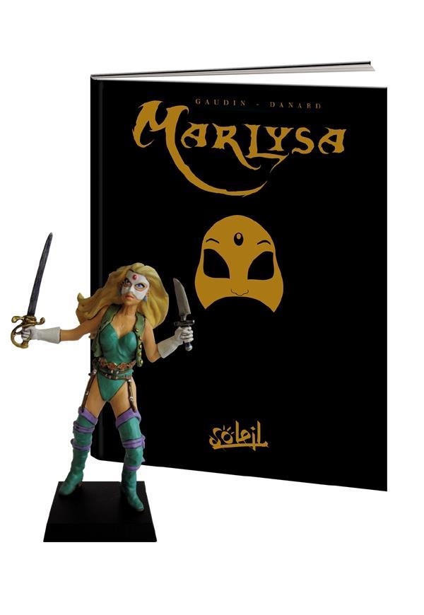 Marlysa T 1 Le Masque Jean Charles Gaudin Jean Pierre Danard Soleil Grand Format Librairies Autrement