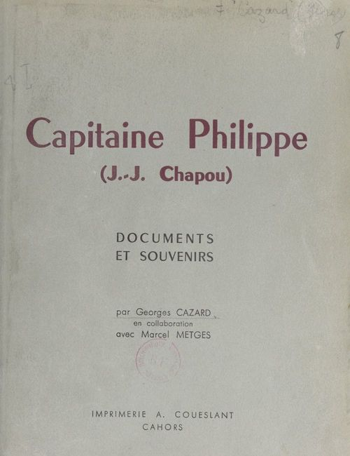 Capitaine Philippe (J.-J. Chapou)