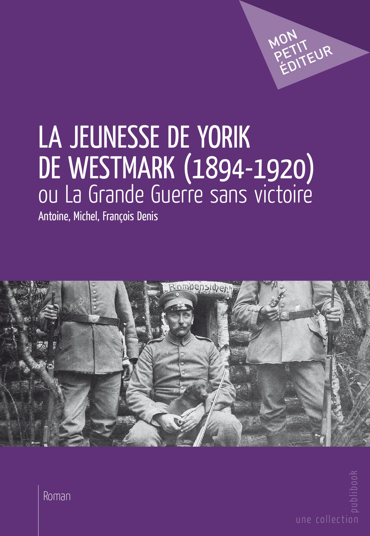 la jeunesse de Yorik de Westmark (1894-1920) ou la Grande Guerre sans victoire