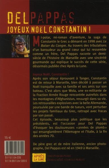 Les aventures de Constantin le Grec t.19 ; joyeux Noël Constantin !