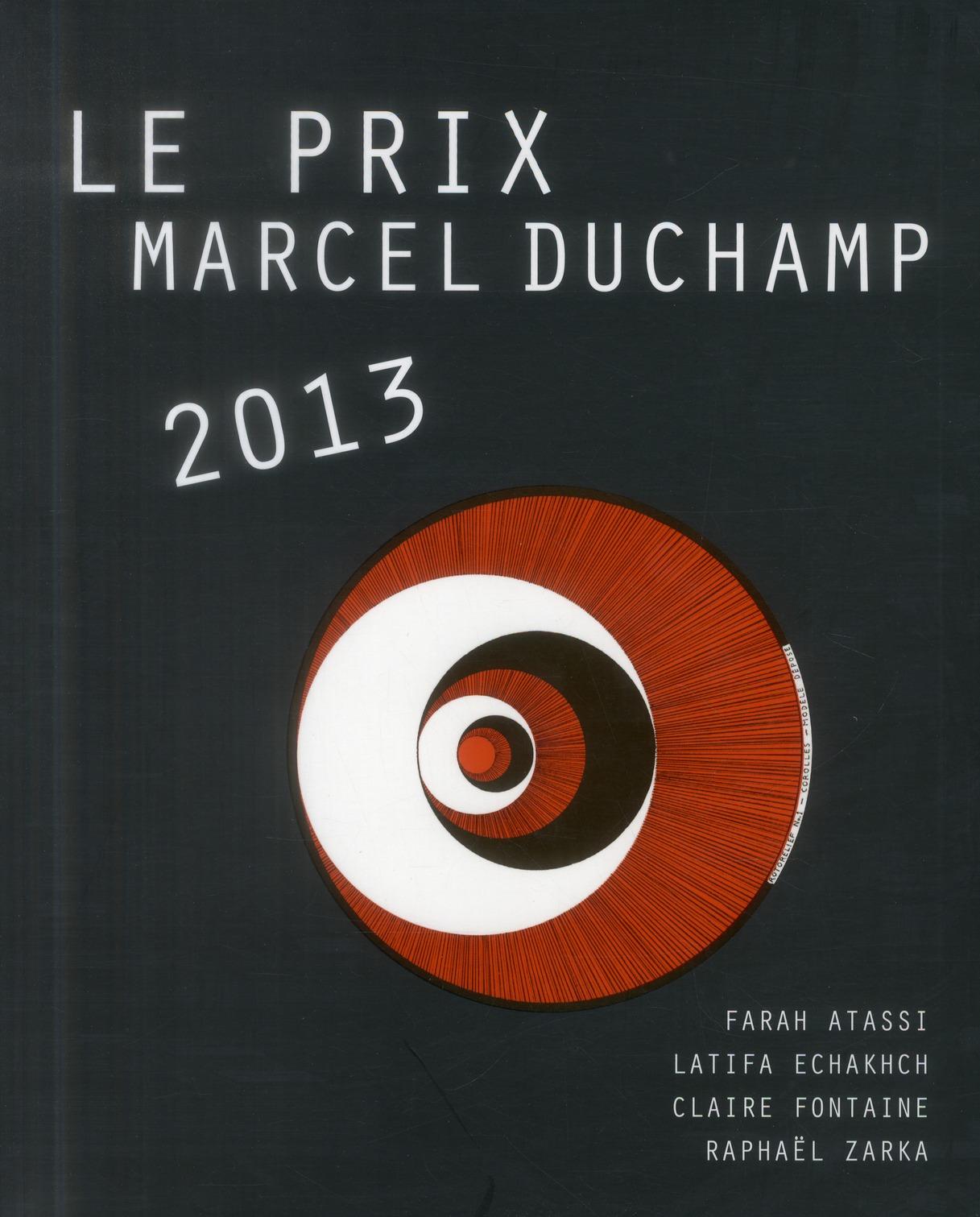 Le prix Marcel Duchamp 2013