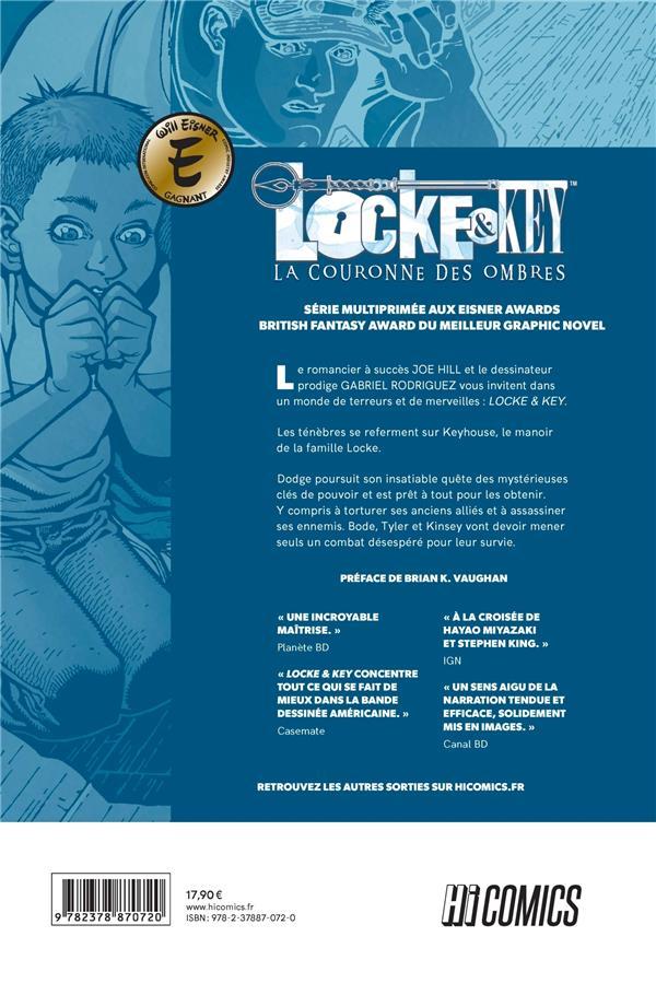 Locke & Key T.3 ; la couronne des ombres