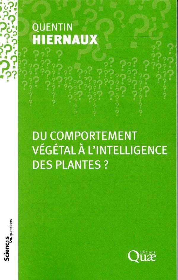 Du comportement végétal à l'intelligence des plantes