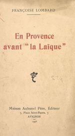 En Provence avant