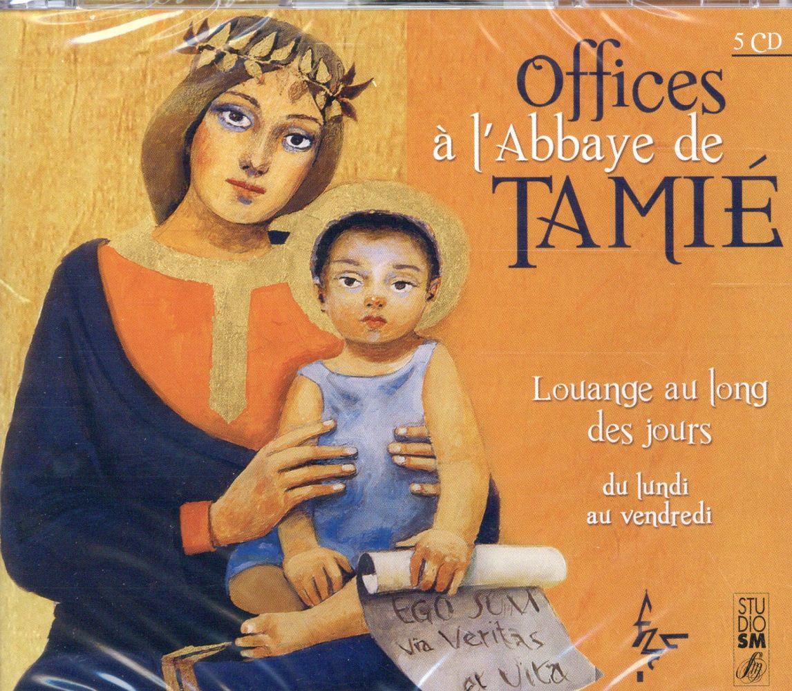 Office à l'abbaye de Tamié ; du lundi au vendredi
