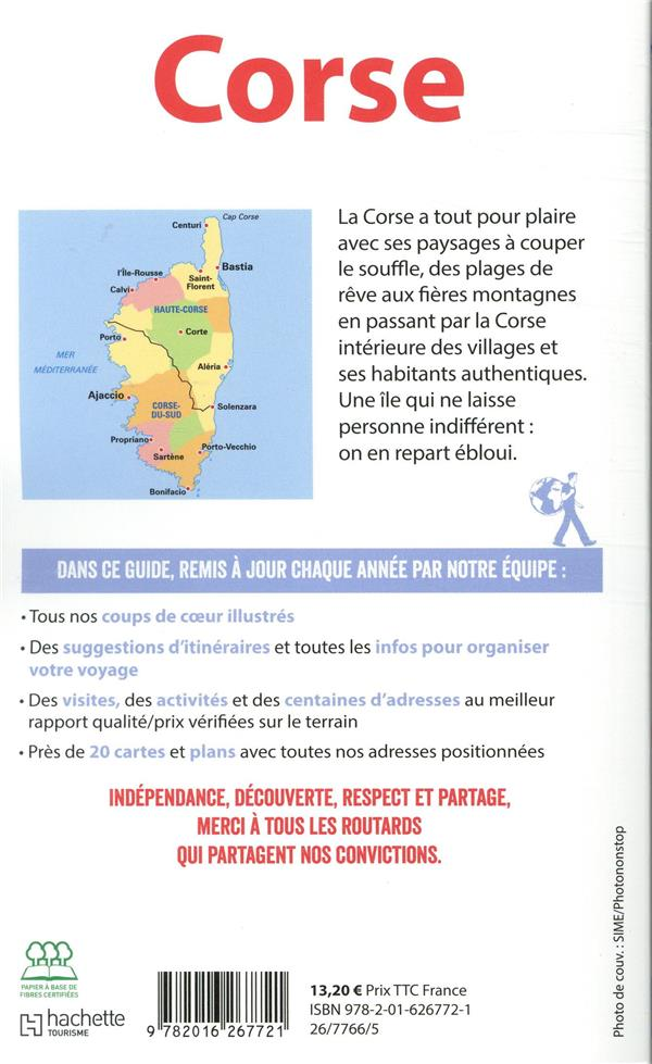 Guide du Routard ; Corse