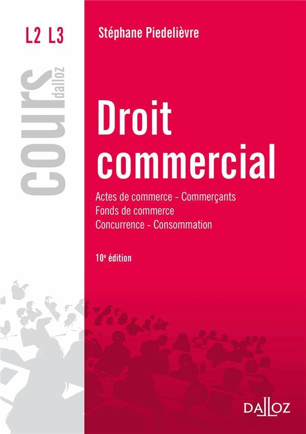 Droit commercial (10e édition)