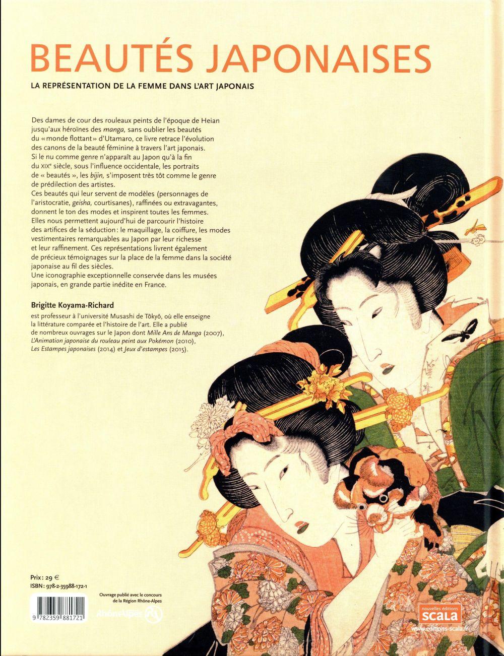 Beautés japonaises ; la représentation de la femme dans l'art japonais