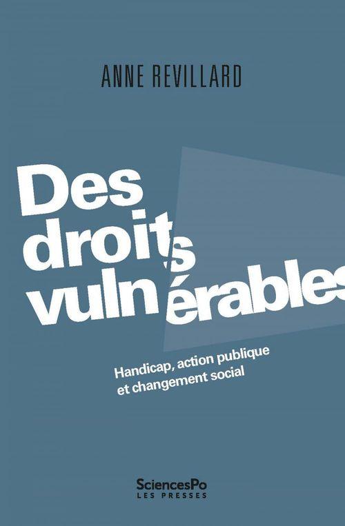 Des droits vulnérables ; handicap, action publique et change