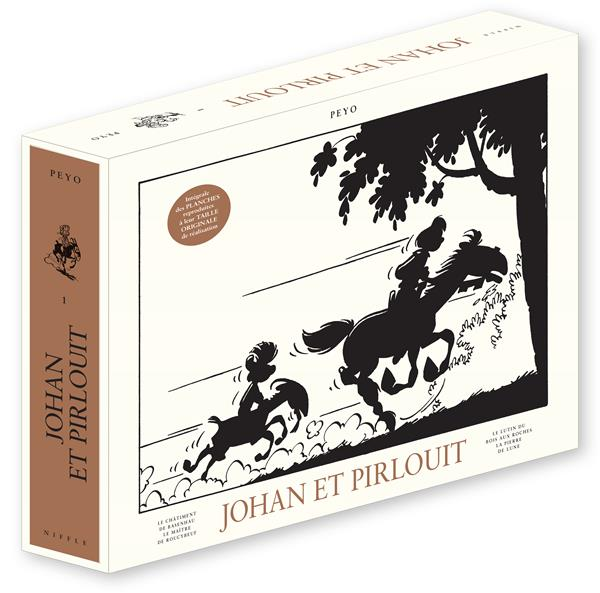 PEYO - JOHAN ET PIRLOUIT - TOME 1 - JOHAN ET PIRLOUIT INTEGRALE