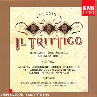 Il Trittico : Il Tabarro;Suor Angelica;Gianni Schicchi
