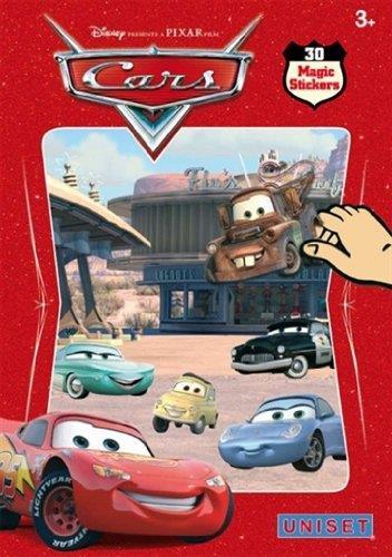 Cars ; 30 magic stickers