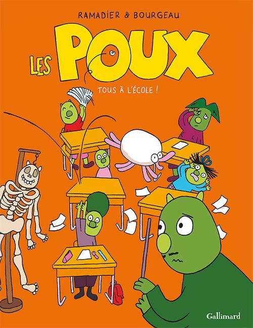 Vente Livre Numérique : Les Poux (Tome 2) - Tous à l'école !  - Vincent Bourgeau  - Cédric Ramadier