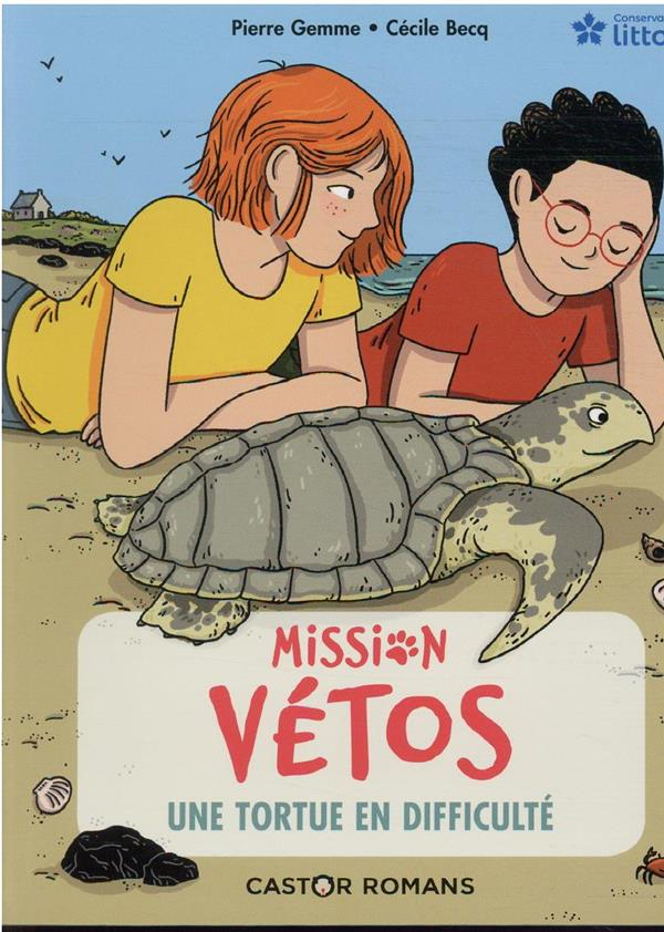Mission vétos t.8 ; mission vetos - une tortue en difficulte