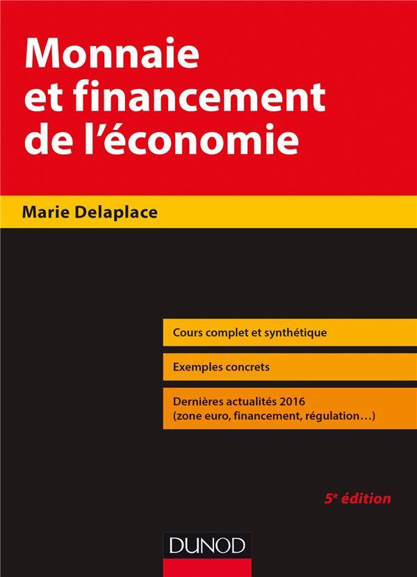 Monnaie et financement de l'économie (5e édition)