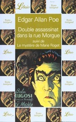 Couverture de Double assassinat dans la rue morgue suivi de : le mystere de marie roget