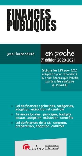 Finances publiques (édition 2020/2021)