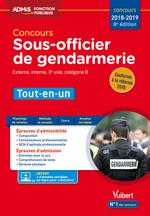 Concours Sous-officier de gendarmerie - Catégorie B - Tout-en-un  - Anne-Marie Bonnerot - Cathy Lognone - Francois Lavedan