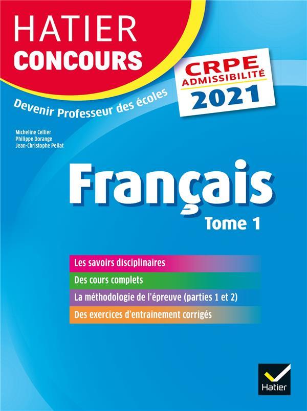 Français t.1 ; CRPE (édition 2021)