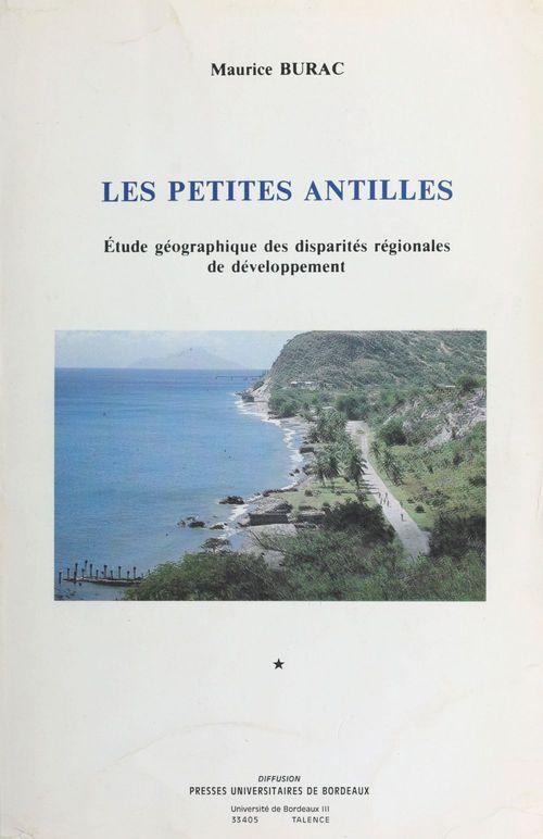 Les Petites Antilles : étude géographique des disparités régionales de développement (1)