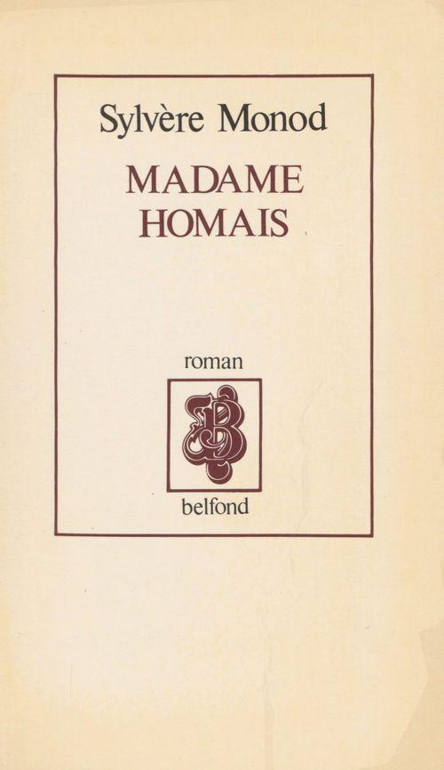 Madame homais