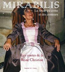 REVUE LIBER MIRABILIS ; les contes de la reine Christine
