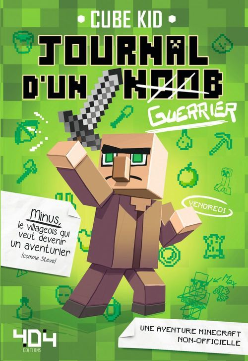 Journal d'un noob (guerrier) - Minecraft
