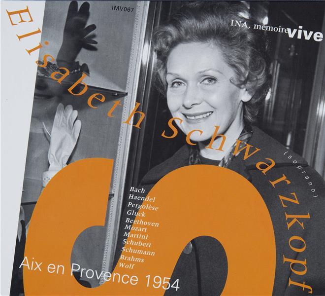 Elisabeth Schwarzkopf: récital au festival d'Aix-en-Provence (1954)