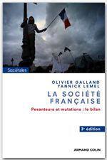 Vente Livre Numérique : La société française  - Olivier Galland - Yannick Lemel