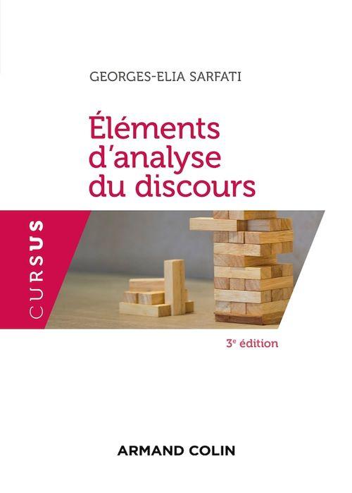 Eléments d'analyse du discours - 3e éd.