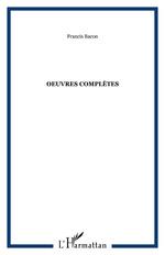 Vente Livre Numérique : Oeuvres complètes  - Francis Bacon