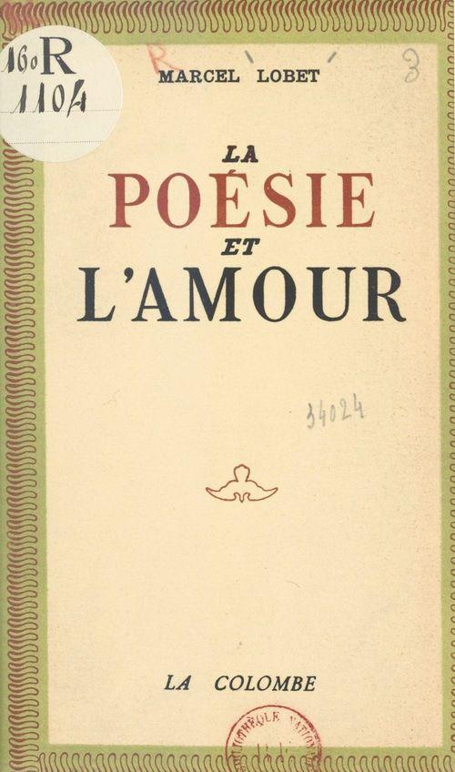 La poésie et l'amour