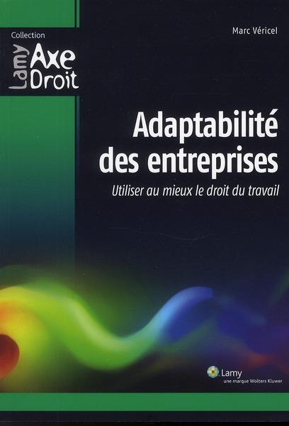 Adaptabilite Des Entreprises. Utiliser Au Mieux Le Droit Du Travail