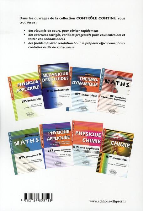 physique appliquée t.2 ; puissances, machines, mécanique des fluides ; BTS électrotechnique (édition 2010)