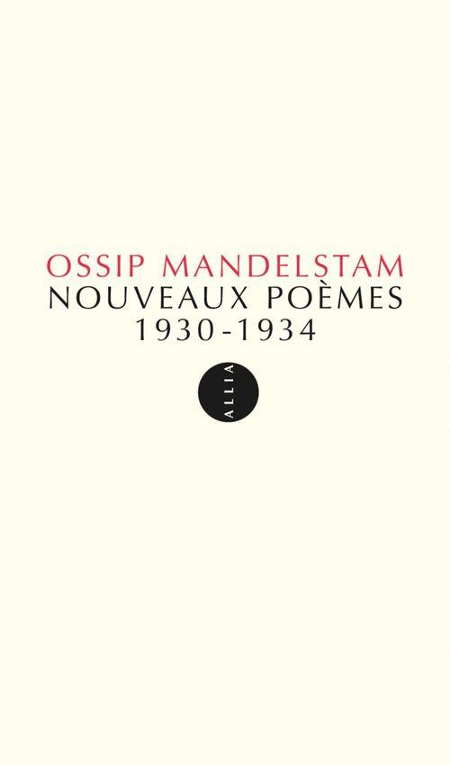 Nouveaux poèmes (1930-1934)