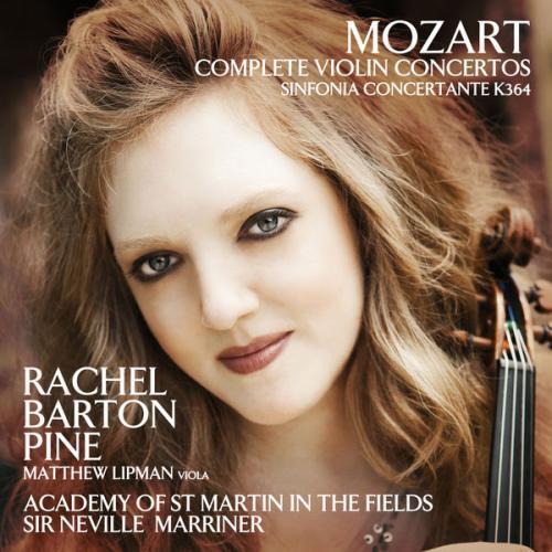 Mozart : intégrale des concertos pour violon. Barton Pine, Lipman, Marriner.