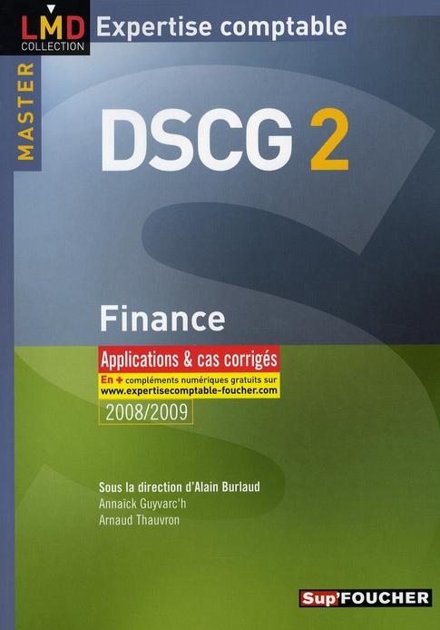 Finance ; master 2 DSCG