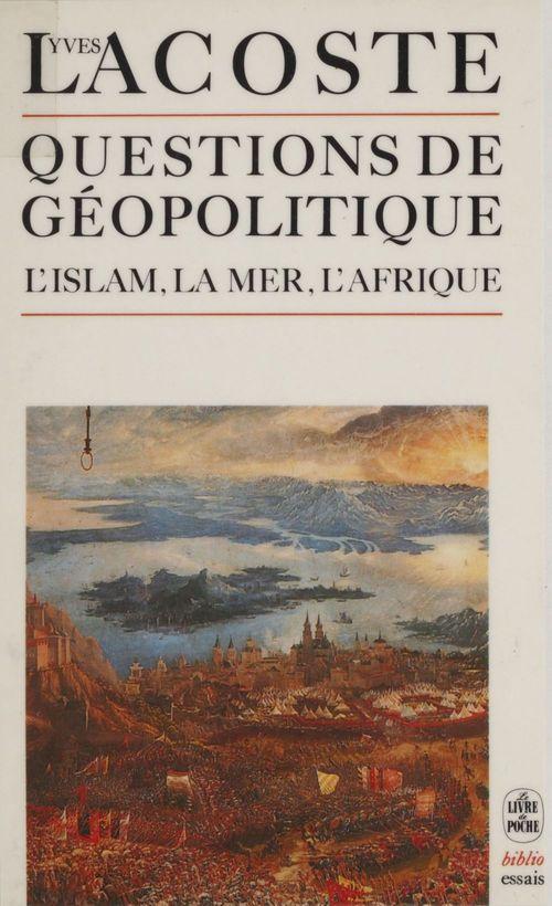 Questions de geopolitique