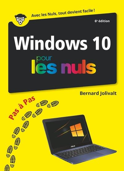 Windows 10 pas à pas pour les nuls (6e édition)