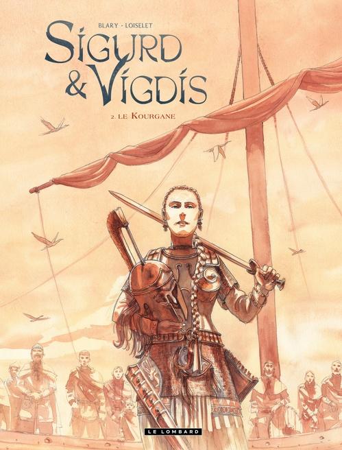 Sigurd et Vigdis t.2 ; le kourgane