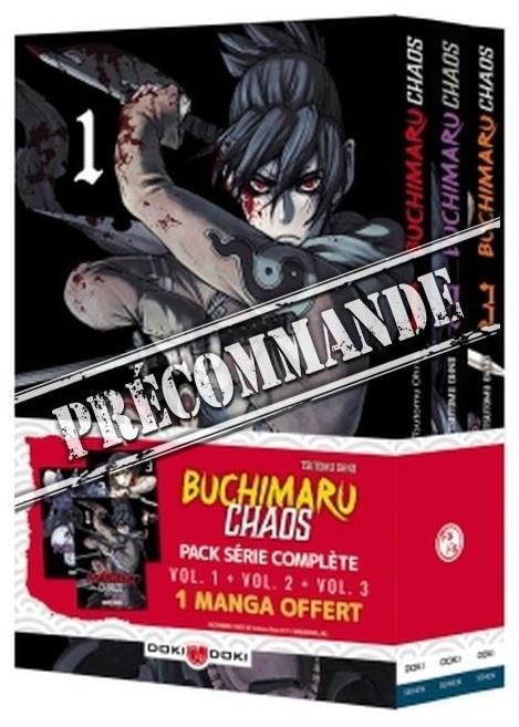 Buchimaru chaos ; t.1 à t.3