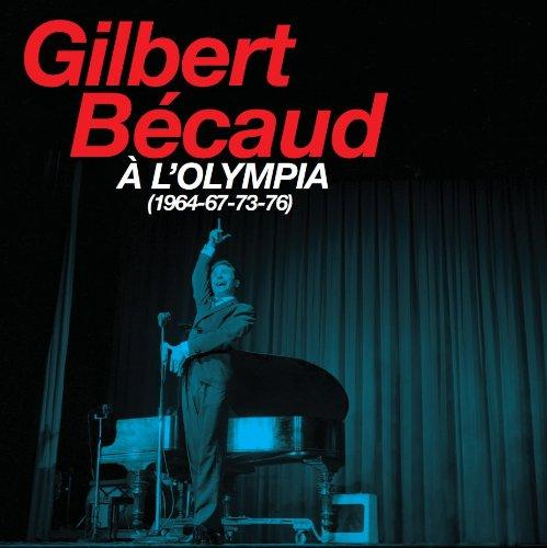 Gilbert Becaud a l'Olympia