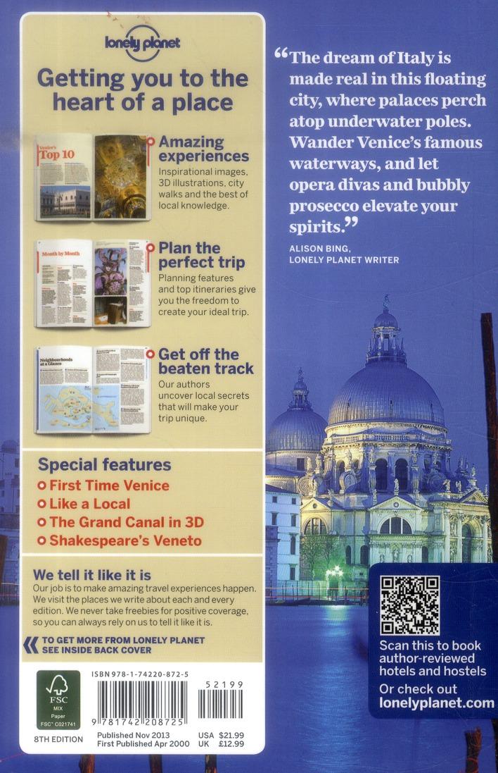 Venice & the Veneto (8e édition)