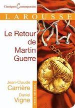 Couverture de Le retour de martin guerre