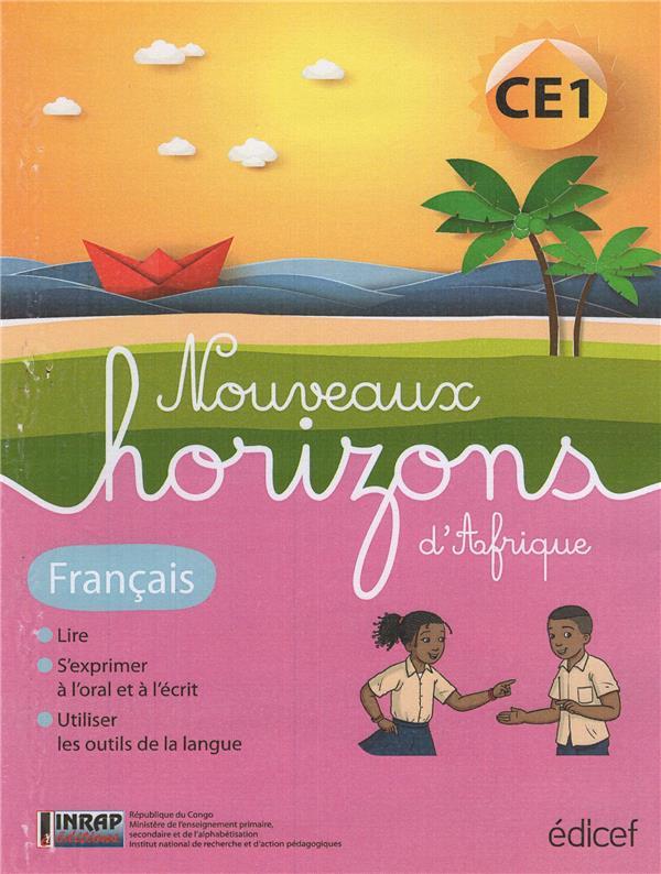 Nouveaux horizons d'Afrique ; français ; CE1