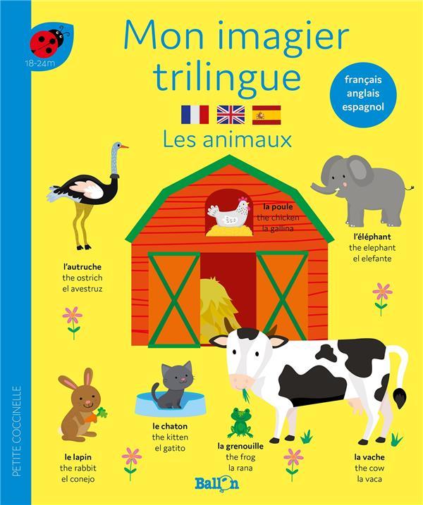 Mon imagier trilingue : les animaux
