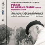 Poèmes de Maurice Carême  - Maurice Carême - Maurice CARÊME
