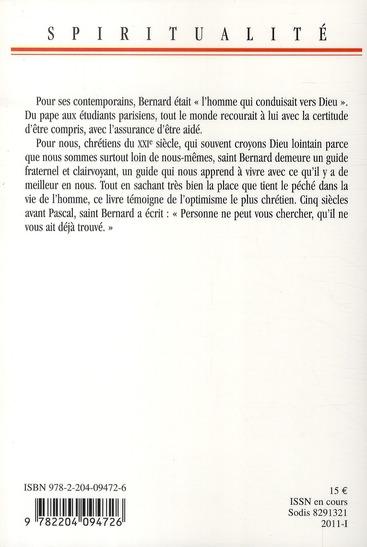 Saint Bernard, un itinéraire de retour à dieu